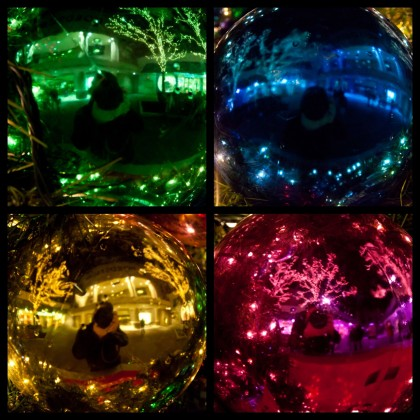 Holiday Ornament Reflections